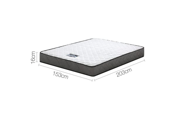 Giselle Bedding Bonnell Pocket Spring Medium Firm Mattress (Queen)