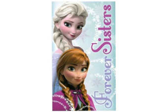 Frozen Sisters Towel (Multicoloured) (One Size)