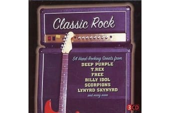 Various  - Classic Rock 54 Hard-Rocking Greats BRAND NEW SEALED MUSIC ALBUM CD