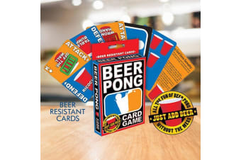 Beer Pong Playing Card Game | party cups balls