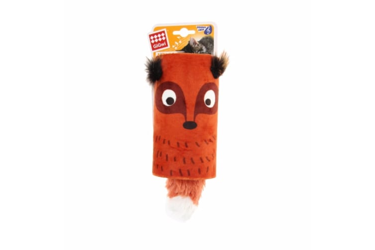 Rosewood GiGwi Cat Melody Tube Toy (Assorted Colours) - ASRTD (Fox) (One Size)