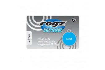 Rogz Scratchie For Metal Id Tagz - L