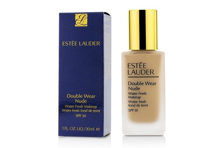 Estee Lauder Double Wear Nude Water Fresh Makeup SPF 30 - # 3C2 Pebble 30ml