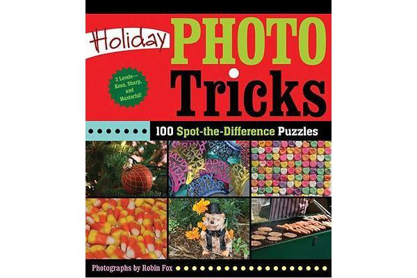 Holiday Photo Tricks - 100 Spot-the-difference Puzzles