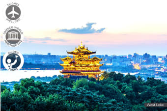 CHINA: 11 Day China Discovery Tour Including Flights for Two