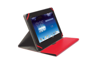 "Kensington Red Comercio Fit Folio/Sleeve Case Protector for 9-10"" Tablets/iPad"
