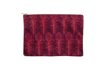 Something Different Luxury Fabric Make Up Bag (Pink) (One Size)