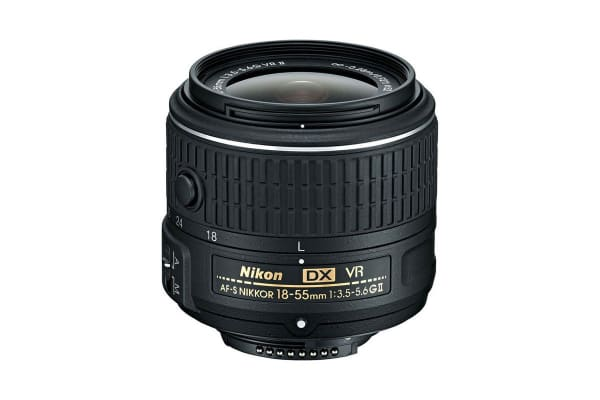 Nikon D7500 with AF-S DX NIKKOR 18-55mm f/3.5-5.6G VR II Lens