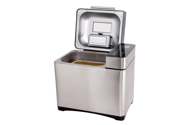 Stainless Steel 19 In 1 Bread Maker with Fruit and Nut Dispenser