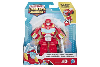 Transformers Rescue Bots Academy Heat Wave The Fire-Bot