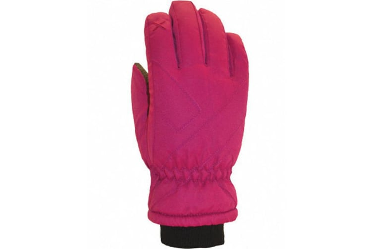 XTM Kid Unisex Gloves Xpress Kids Glove Hot Pink - L