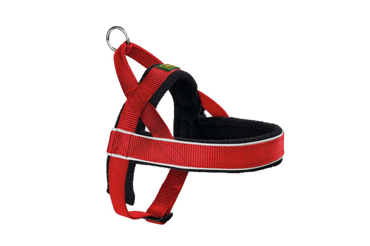 Hunter Norwegian Racing Dog Harness (Red) (XX-Large)