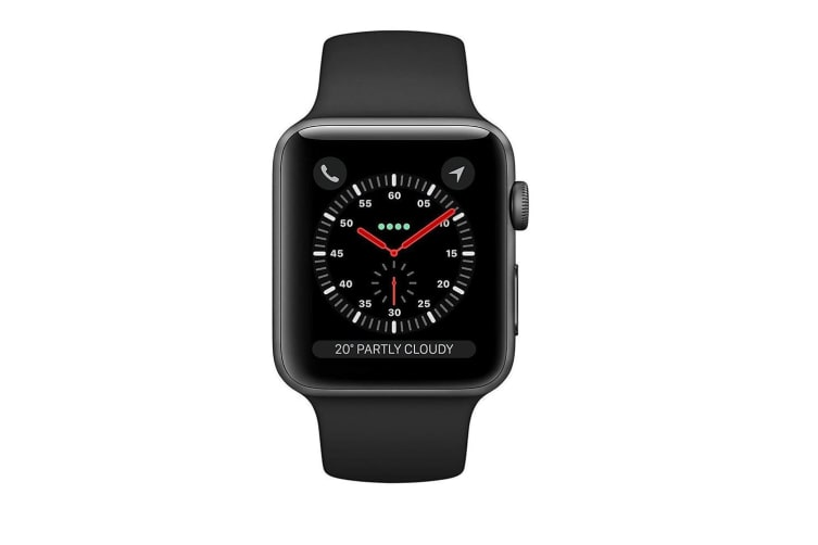 Apple Watch Series 3 A1891 GPS + Cellular 16GB 42mm Black Stainless Steel [Excellent Grade]