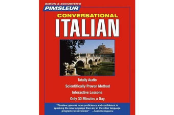 Pimsleur Italian Conversational Course - Level 1 Lessons 1-16 CD - Learn to Speak and Understand Italian with Pimsleur Language Programs