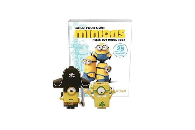 Build Your Own Minions Press-Out Model Book,