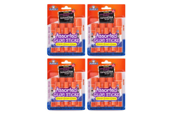 4x 7pc Elmer's Washable Disappearing Art/Craft Glue Sticks Office/School Set PP