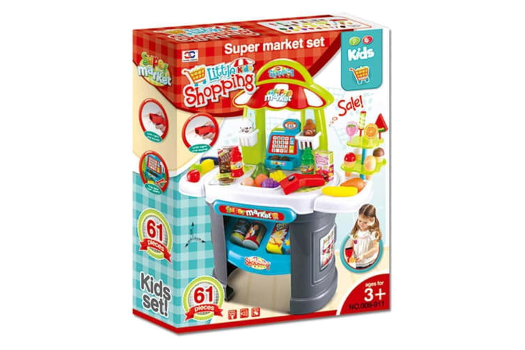 Little Shopping Kids Supermarket with Lights and Sounds