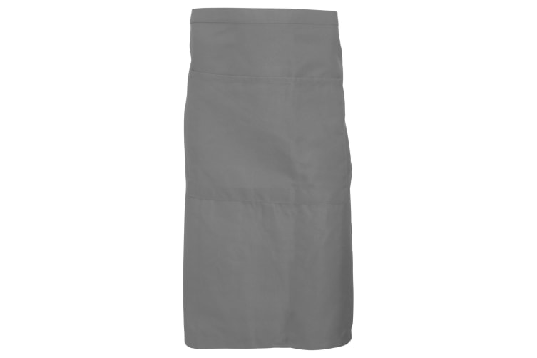 Dennys Adults Unisex Catering Waist Apron With Pocket (Griffin Grey) (One Size)