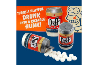 The Simpsons Duff Beer Can Mints | Delicious Minty Goodness, DUFF!