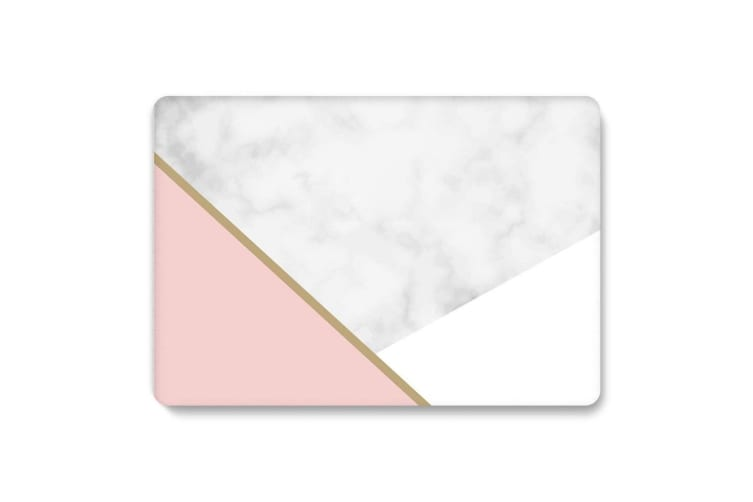"""Marble Frosted Matte Hard Case with Free Keyboard Cover for MacBook Pro 13"""" 2019 A2159 A2251-Tri-Colored Marble"""