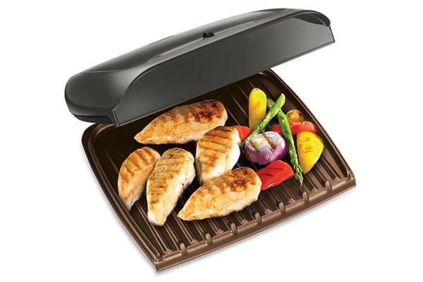 George Foreman Jumbo Grill with Temperature Control (GR18891AU)