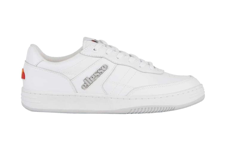 Ellesse Men's Vinitziana 2.0 Leather AM Shoe (White/White, Size 12 US)