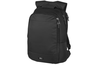 Case Logic 15.6 Laptop Backpack (Solid Black) (34 x 10 x 49 cm)