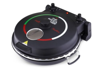 New Wave NWKA 1200W Multi Function Pizza Maker (Black)