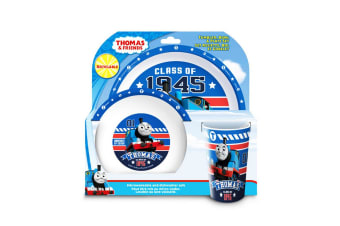 Thomas And Friends Childrens/Kids Official 3 Piece Dinner Set (Multicoloured)