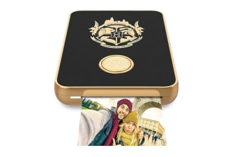 Lifeprint Harry Potter 2x3 Bluetooth Photo/Video Printer for iOS/Android Black