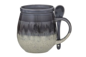Davis & Waddell Ritual Reactive Hug Mug Grey 500ml 3-Piece Set