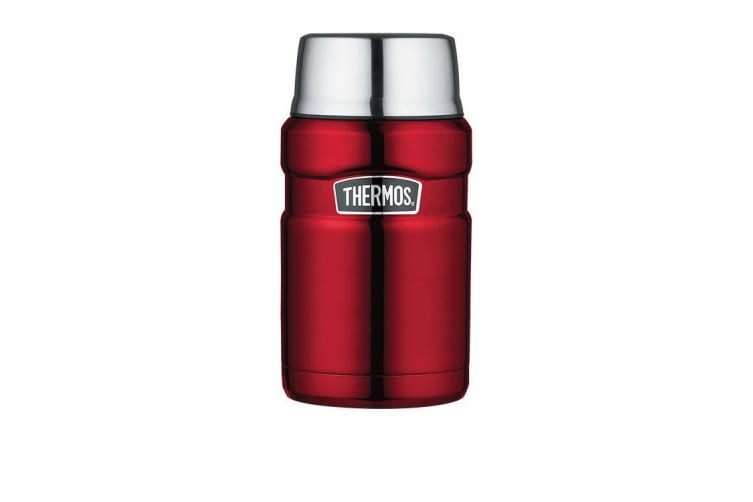 Thermos Stainless King Insulated Food Jar 710ml Red