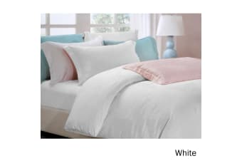 6 Piece Tencel Jacquard Bed Set Love Roses White Queen