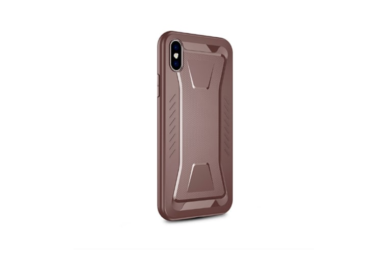 Protective Cover Case For Iphone Pattern Anti Fall Phone Cover Tpu Silicone Housing Brown Iphonexs Max