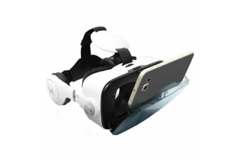 Xtreme VR Cinema Viewer Entertainment w/ Headphones for Android/iOS Smartphones