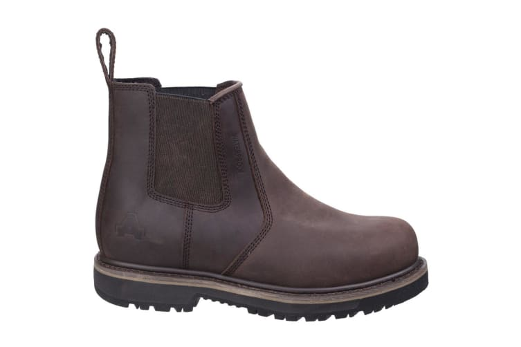 Amblers Mens AS231 Leather Dealer Boot (Brown) (6 UK)