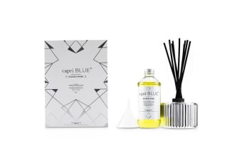 Capri Blue Gilded Muse Reed Diffuser - Citrus & Violet Haze 230ml/7.75oz