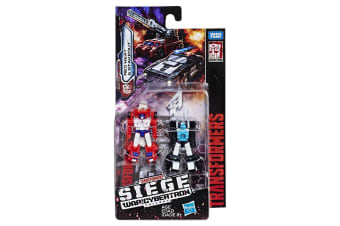 Transformers Generation War - MicroMaster Rescue Red Heat and Stakeout Set