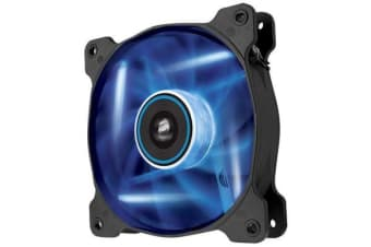 Corsair Air Flow 120mm Fan Quiet Edition Blue LED 3 PIN - Superior cooling performance and LED illumination