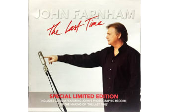John Farnham – The Last Time - Special Limited Edition PRE-OWNED CD: DISC EXCELLENT