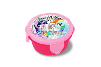My Little Pony Childrens/Kids Official Snack Pot Lunch Box (Red/Pink) (One Size)