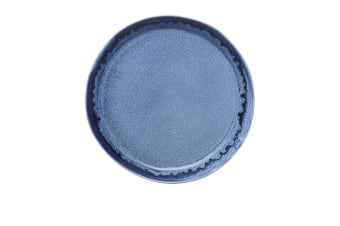 Ecology Shore Dinner Plate 27.5cm Cobalt Blue