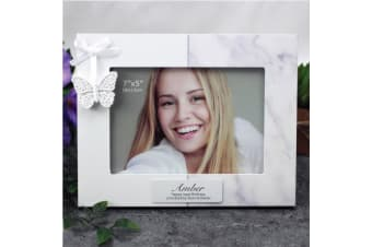 Personalised Birthday Photo Frame 5x7 Butterfly