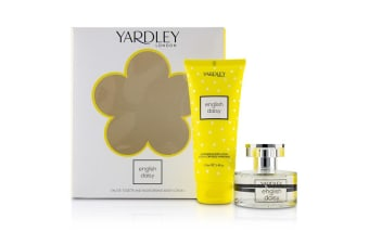 Yardley London Daisy Coffret: EDT Spray 50ml/1.7oz + Moisturising Body Lotion 200ml/6.8oz 2pcs
