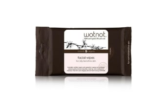 Wotnot Facial Wipes Oily Sensitive Skin x5Pack (pockt size)