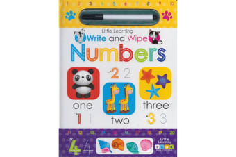 Little Learning: Write and Wipe: Numbers