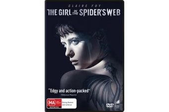 The Girl in the Spiders Web DVD Region 4
