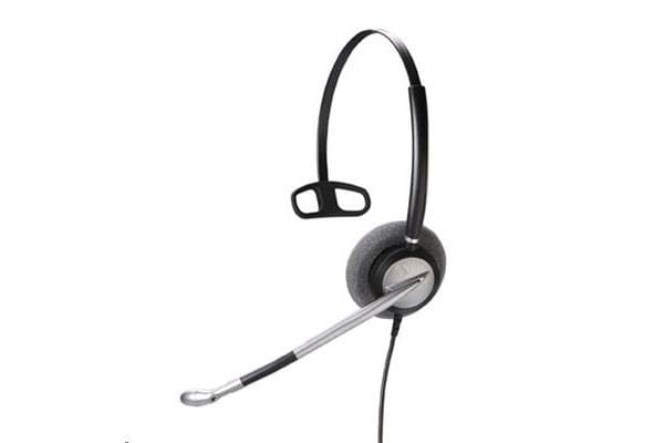 Addcom ADD700 Monaural Headset with Wideband speakers and noise cancelling microphone