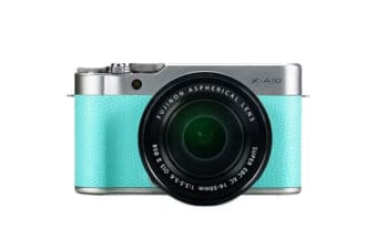 New Fujifilm X-A10 Kit (16-50mm) Digital Camera Lime (FREE DELIVERY + 1 YEAR AU WARRANTY)
