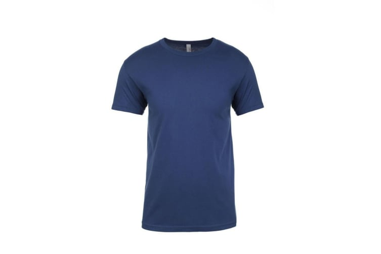 Next Level Adults Unisex Crew Neck T-Shirt (Cool Blue) (XS)